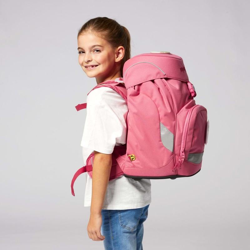 Ergobag Skoletaske Prime Eco Hero Lyserød 8