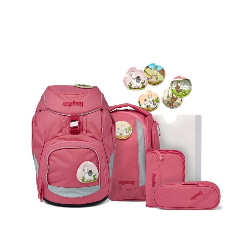 Ergobag Skoletaskesæt Pack Eco Hero Lyserød 1