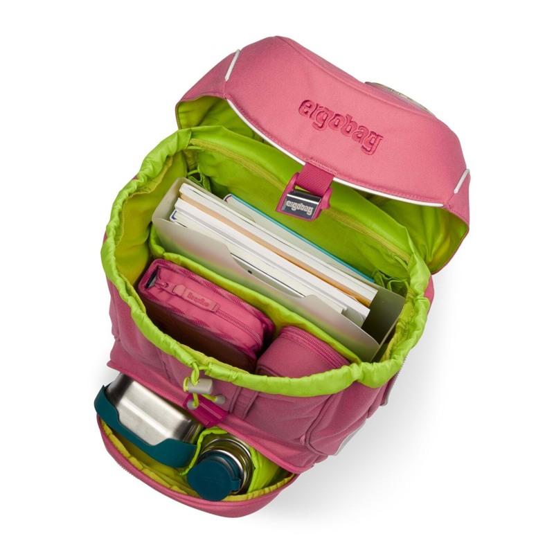 Ergobag Skoletaskesæt Pack Eco Hero Lyserød 6