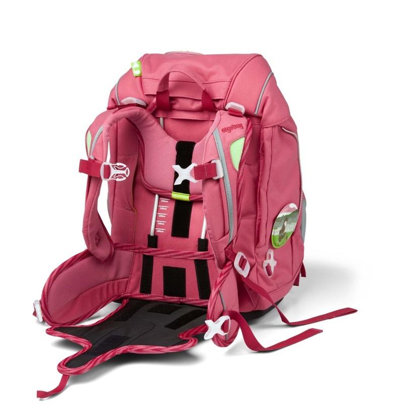 Ergobag Skoletaskesæt Pack Eco Hero Lyserød 7