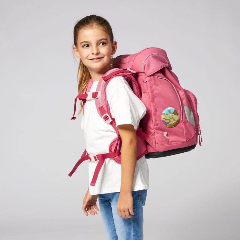 Ergobag Skoletaskesæt Pack Eco Hero Lyserød 8