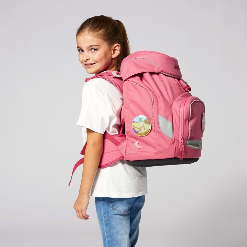 Ergobag Skoletaskesæt Pack Eco Hero Lyserød 9
