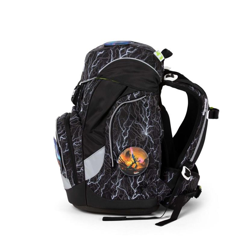 Ergobag Skoletaske Pack Reflex-Edition Sort m/strib 3