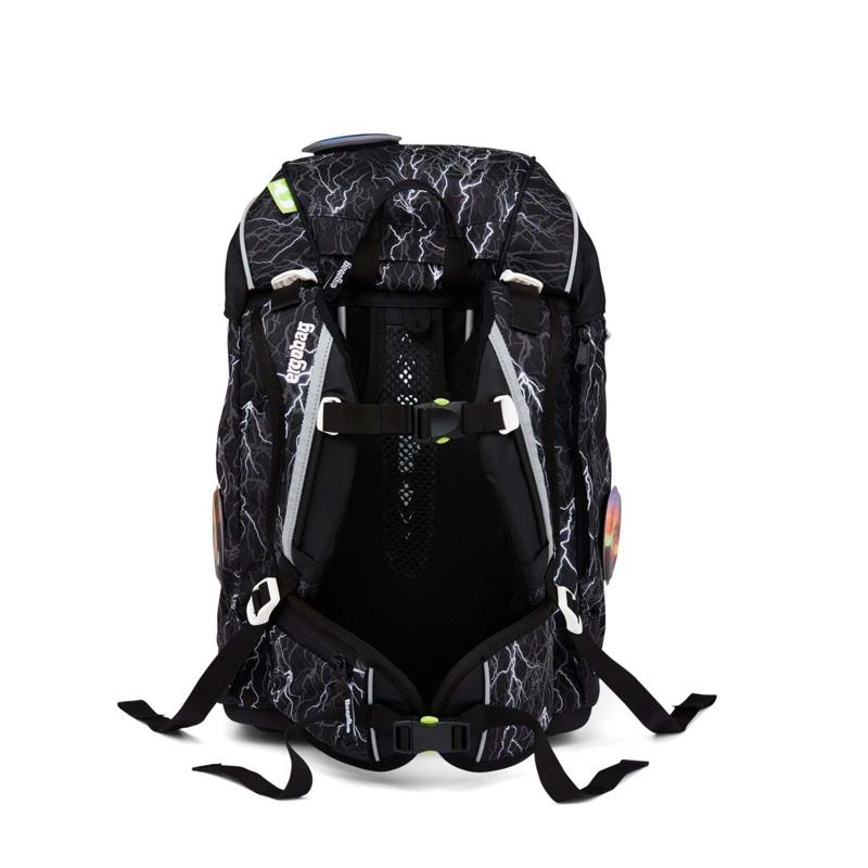 Ergobag Skoletaske Pack Reflex-Edition Sort m/strib 4
