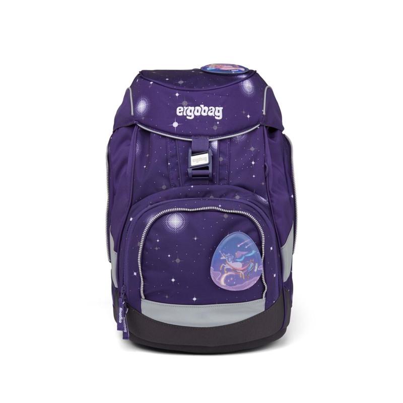 Ergobag Skoletaskesæt Pack Galaxy Glow Lilla 2