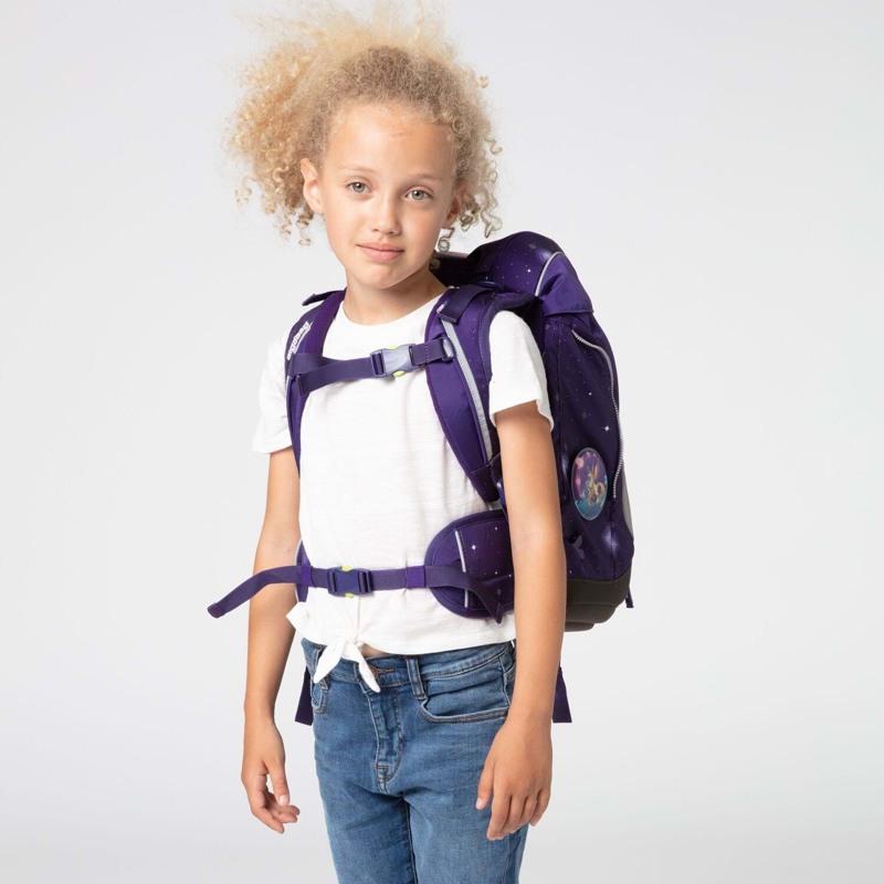 Ergobag Skoletaskesæt Pack Galaxy Glow Lilla 5
