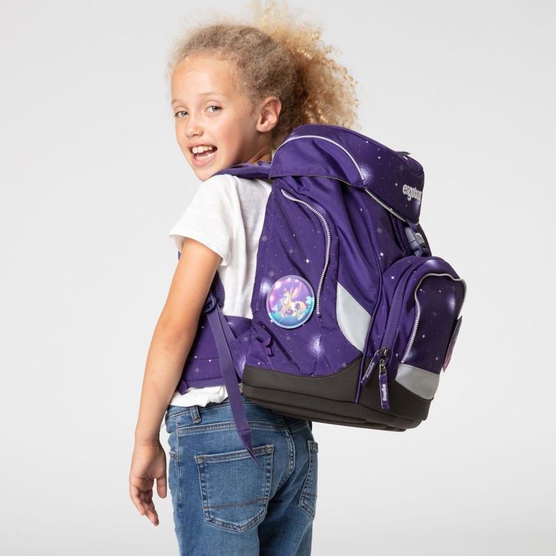 Ergobag Skoletaskesæt Pack Galaxy Glow Lilla 6