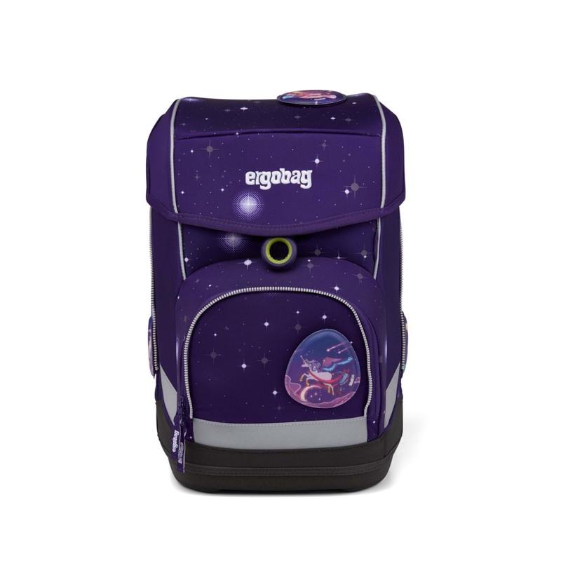Ergobag Skoletaskesæt Cubo Galaxy Glow Lilla 2