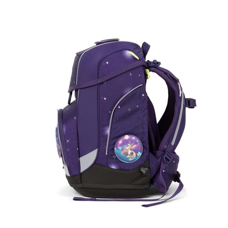 Ergobag Skoletaskesæt Cubo Galaxy Glow Lilla 3