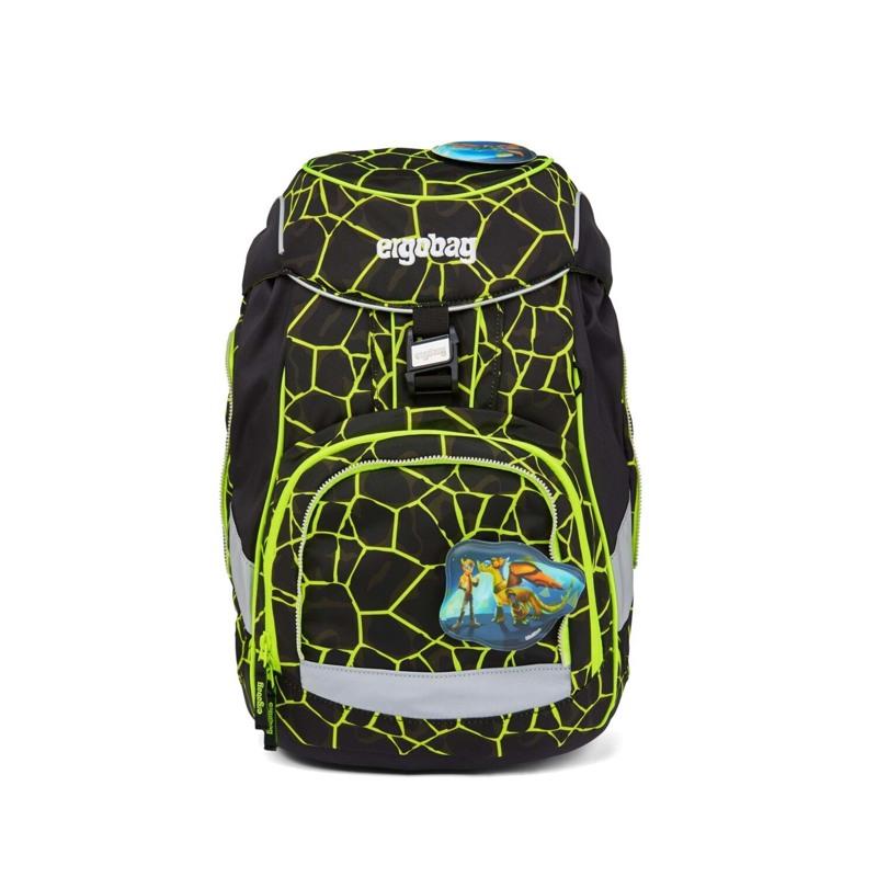Ergobag Skoletaske Pack Lumi Edition Sort/Gul 2