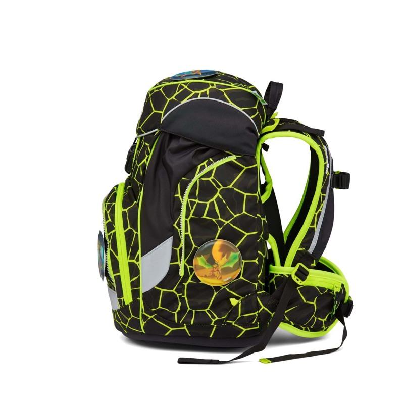 Ergobag Skoletaske Pack Lumi Edition Sort/Gul 3
