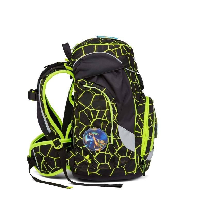 Ergobag Skoletaske Pack Lumi Edition Sort/Gul 5