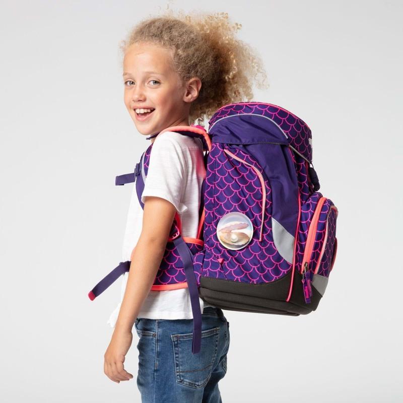 Ergobag Skoletaske Pack Lumi Edition Lilla/pink 6