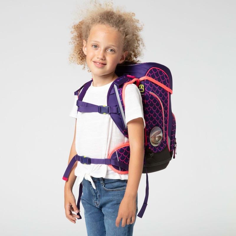 Ergobag Skoletaskesæt Cubo Lumi Edt Lilla/pink 5