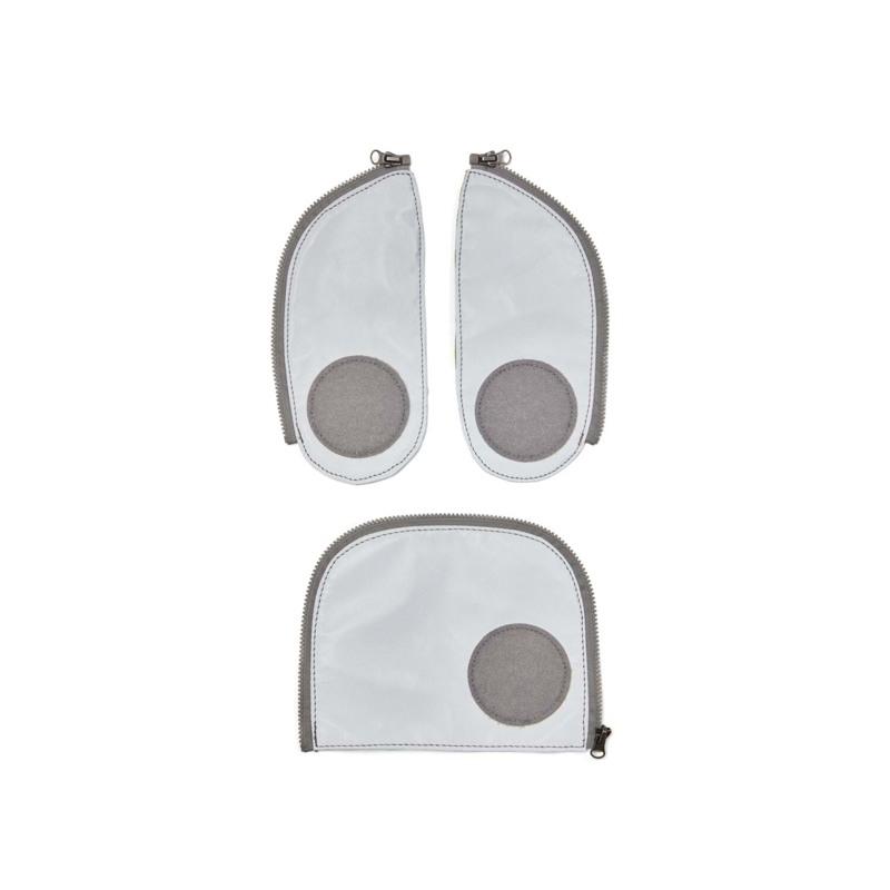 Ergobag Sikkerhedssæt Refleks Zip-Set Sølv 1