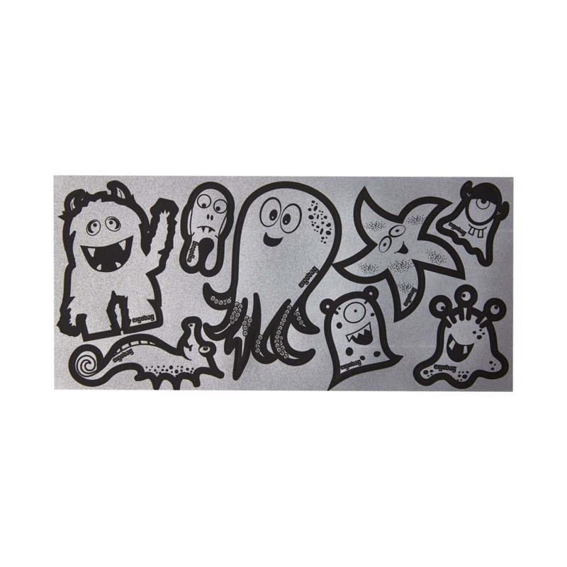 Ergobag Refleks-Klistermærker Sølv 1