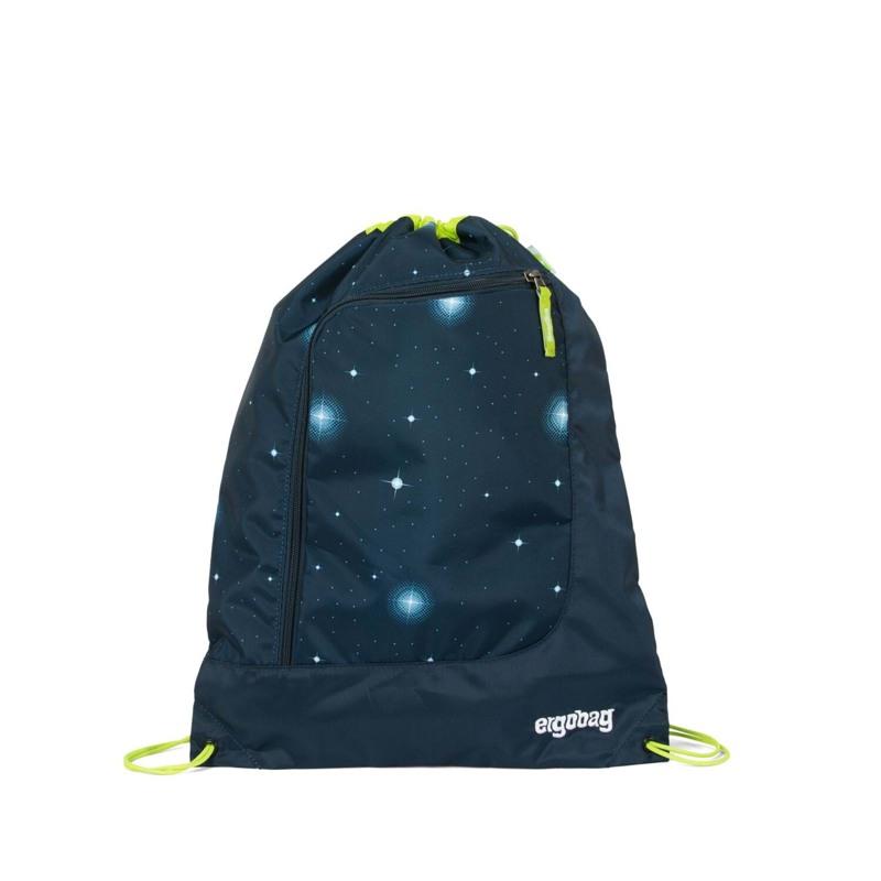Ergobag Gymnastikpose Prime Galaxy Glo Blå m/stjerner 1