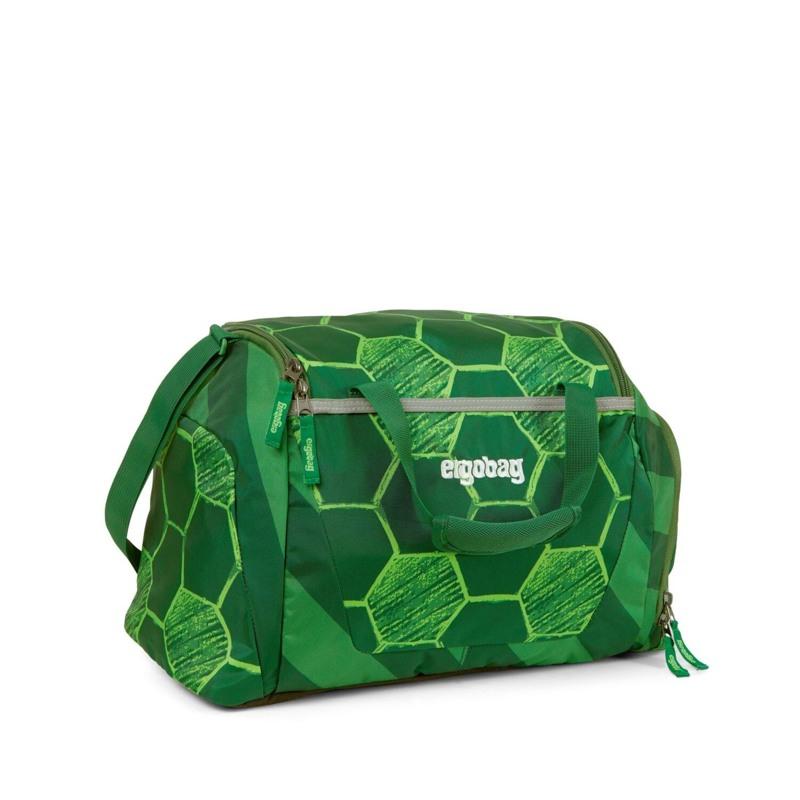 Ergobag Sportstaske Eco Hero-Ed. Grøn mønster 1