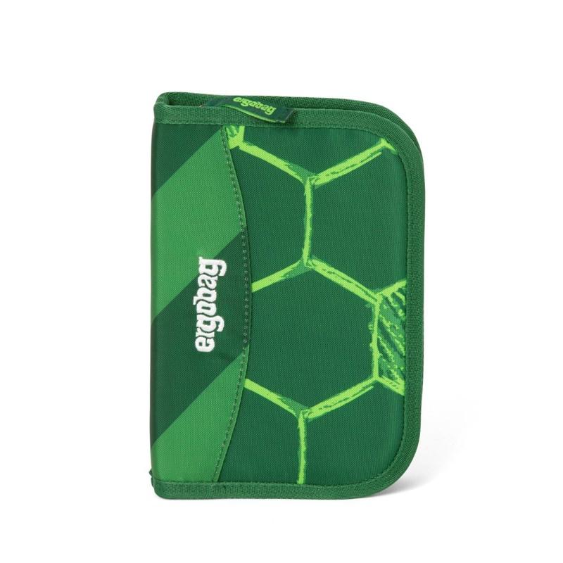 Ergobag Penalhus med fyld Eco Hero-Ed. Grøn mønster 1