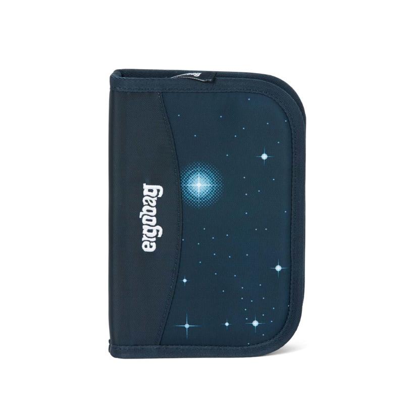 Ergobag Penalhus med fyld Galaxy Glow Blå m/stjerner 1