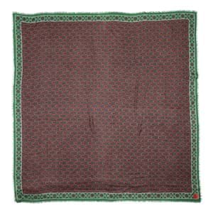 Erfurt Luxury Tørklæde Brun/rød