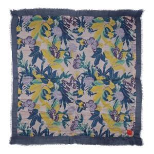 Erfurt Luxury Tørklæde Blå/mønster