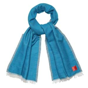 Erfurt Luxury Tørklæde Blå