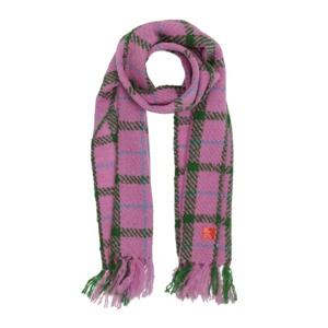 Erfurt Luxury Tørklæde Pink/Grøn