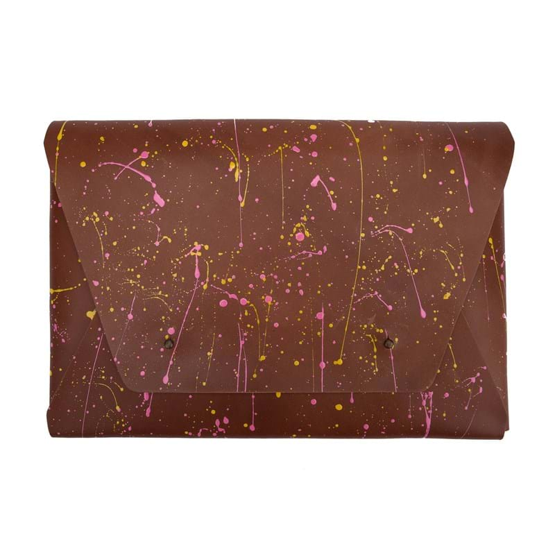 Leather by Beth MacBook Pro Air Sleeve Brun 1