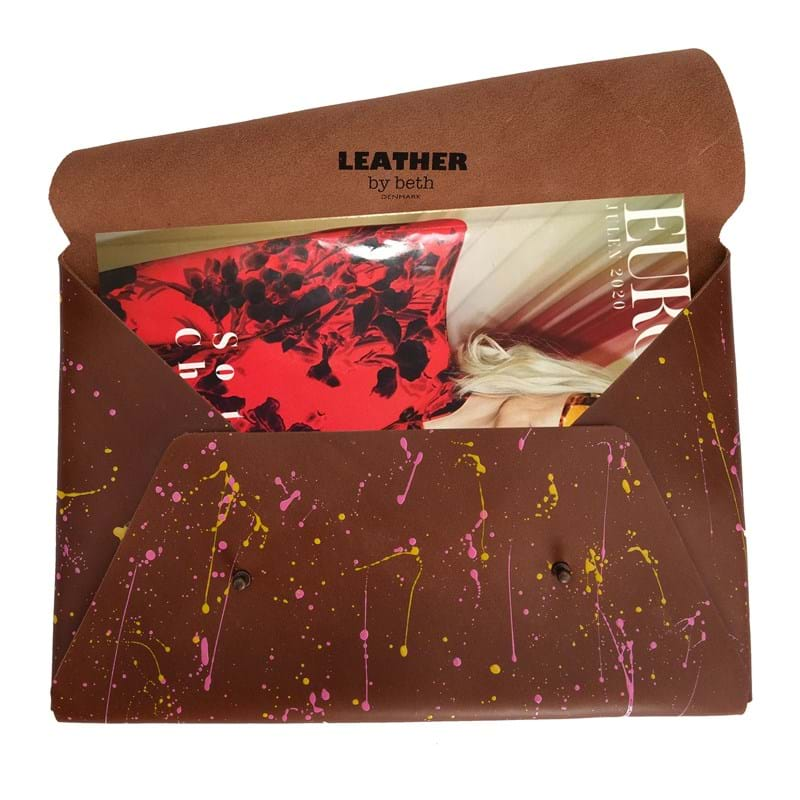 Leather by Beth MacBook Pro Air Sleeve Brun 4