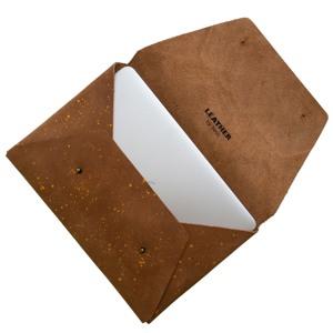 "Leather by Beth Sleeve MacBook Pro Air 14"" Brun/Beige alt image"