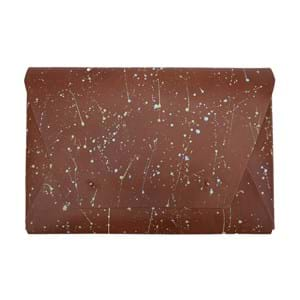 """Leather by Beth Sleeve MacBook Pro Air 14"""" Brun-pink"""