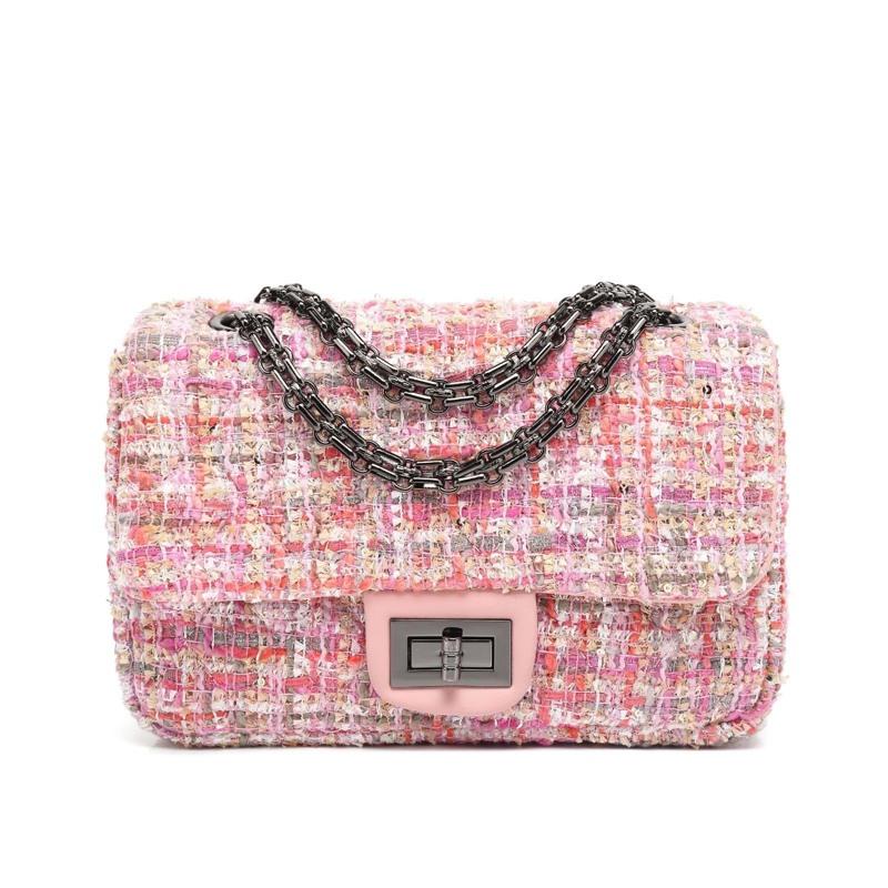 Noella Crossbody taske Pink mønstret 1