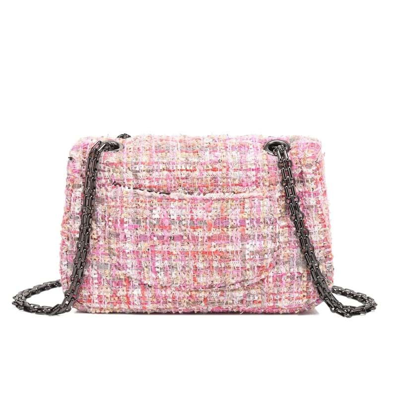 Noella Crossbody taske Pink mønstret 2