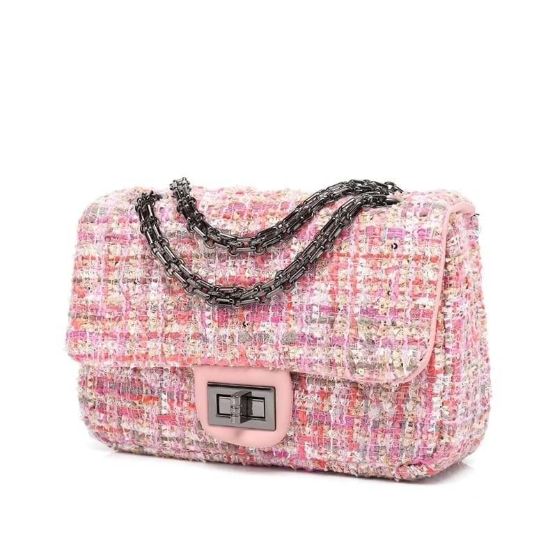 Noella Crossbody taske Pink mønstret 3