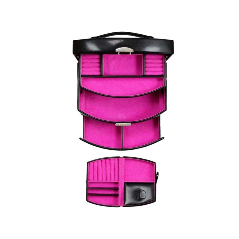 Windrose Smykkeskrin Sort/pink 4
