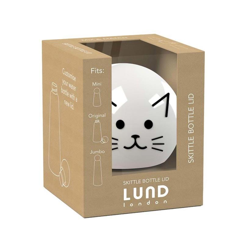 Lund London Top Drikkeflaske Sort/Hvid 1