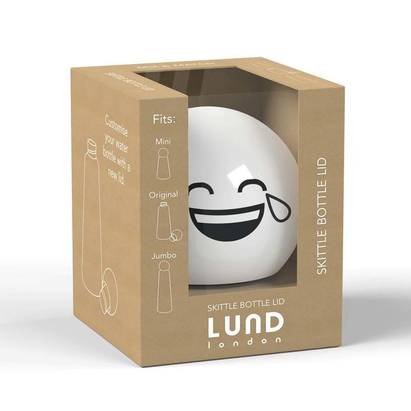 Lund London Top Drikkeflaske Hvid/sort 1