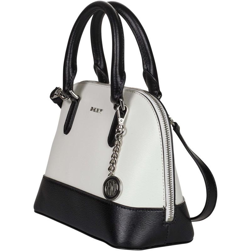 DKNY Håndtaske Bryant  Hvid/sort 2
