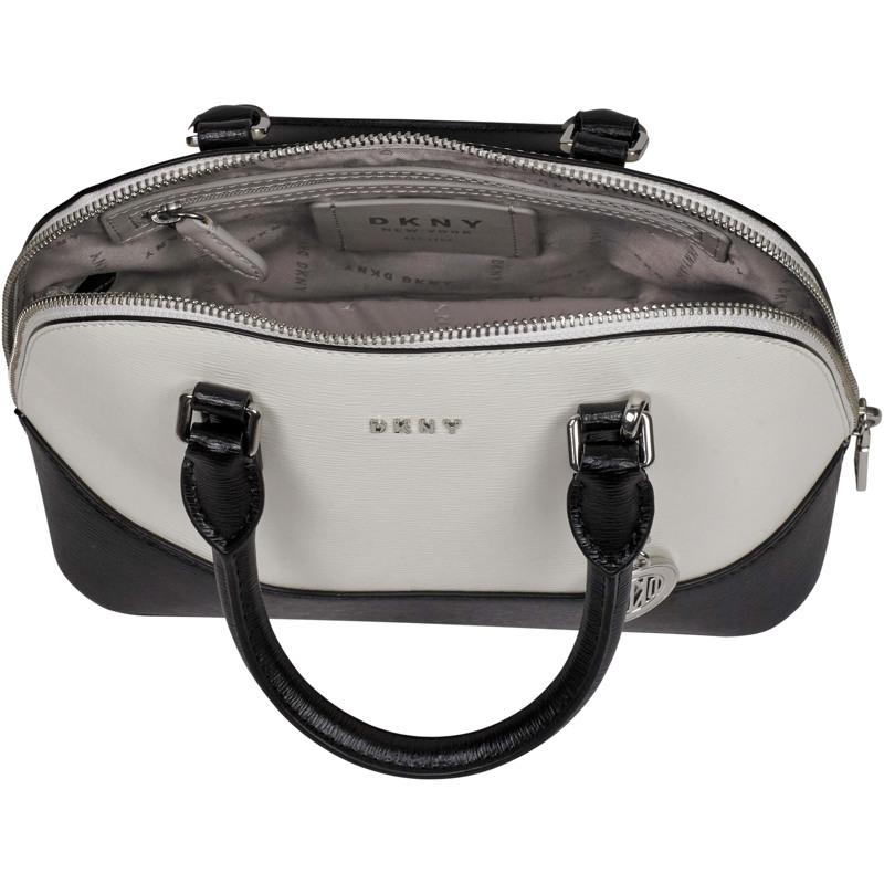 DKNY Håndtaske Bryant  Hvid/sort 4