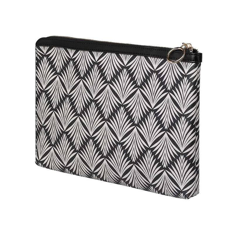 Coming Copenhagen iPad Sleeve Piper Sort/Hvid 2