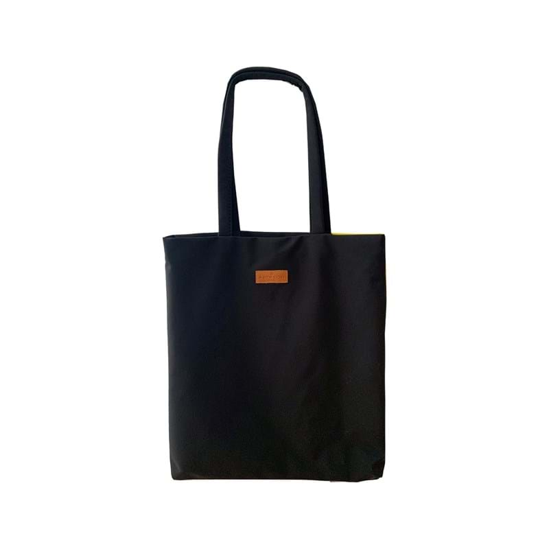 A New Story Totebag Bauhaus Sort/Gul 2