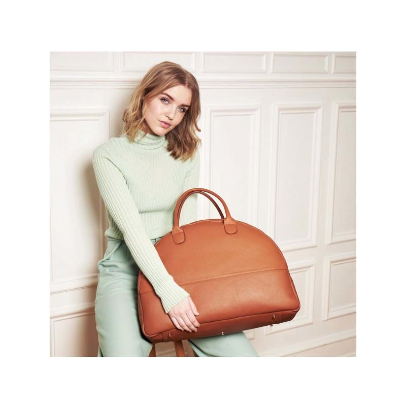 A New Story Håndtaske Luna Cognac 5