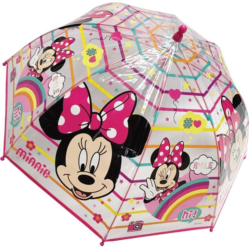 Hoffmann Børneparaply Minnie Mouse Pink 1