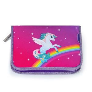 JEVA Penalhus One Zip Rainbow Pegas Lilla