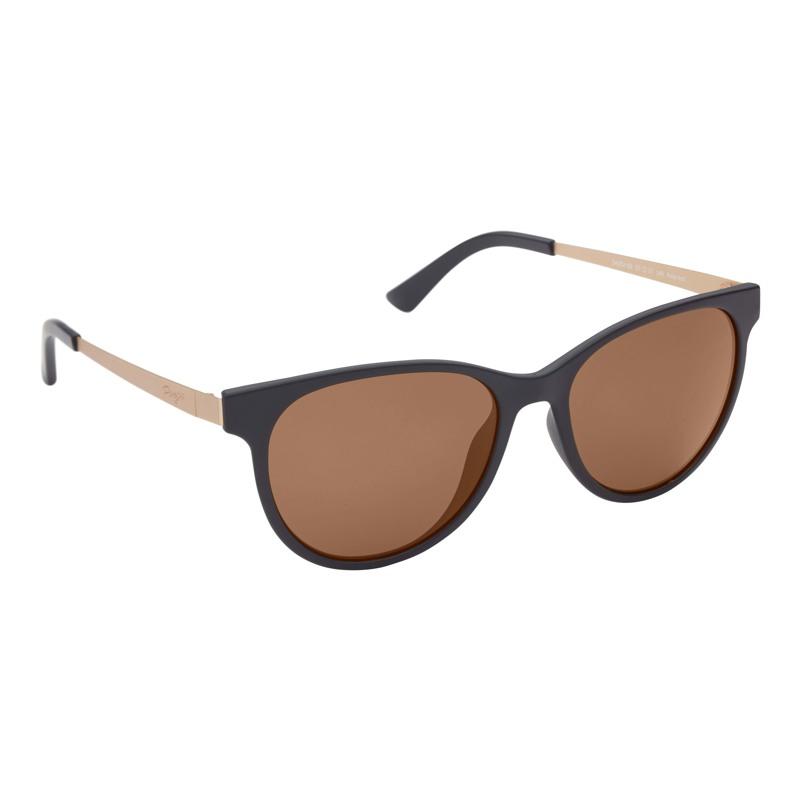 Prego Solbriller Rektangulær Chiari Sort 1