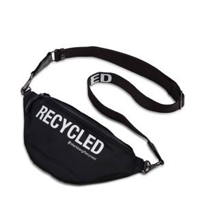 Markberg Bæltetaske Thyra Recycled Sort m/hvide bogstaver