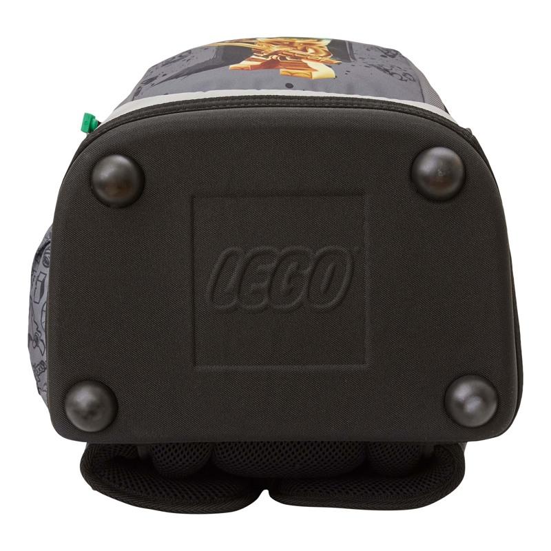 LEGO Skoletaske Nielsen Ninjago Gol Grå 4