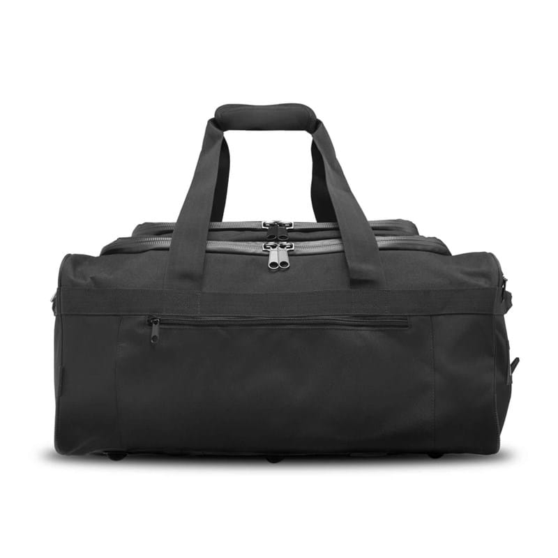 North Sea Bags Sportstaske med indbygget rygs Sort 1