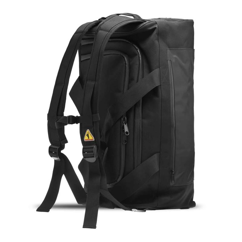 North Sea Bags Sportstaske med indbygget rygs Sort 2